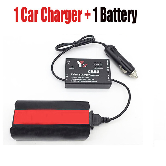 For Parrot Bebop 2 Drone Battery+Car Charger 12.6V 2A Quick Battery Charging...