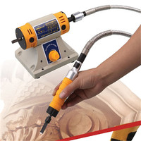 220V Polishing Machine New Electric Woodworking Chisel Carving Chisel Engraving Machine Instead Of Hand Carving Knife