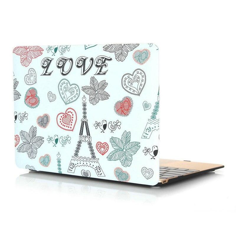 laptop 3 In1 Beschermende Sea sky Case voor Macbook air 11 pro 13 - Notebook accessoires