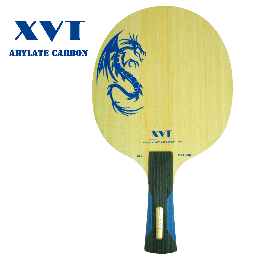 XVT ALC DRAGON Arylate Carbon Table Tennis Blade/ ping ...