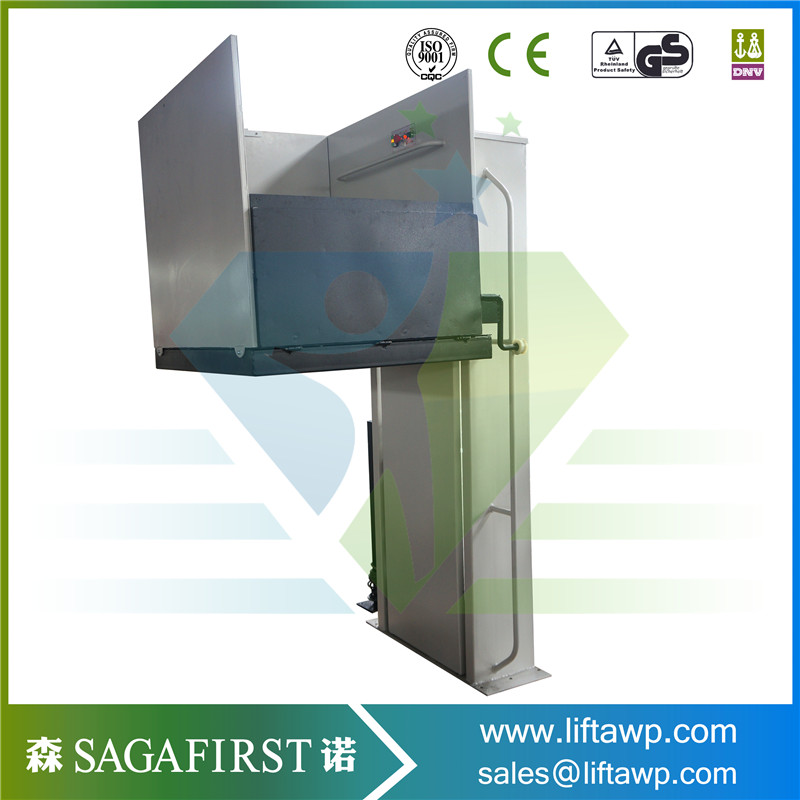 Aluminum Wheelchair Lift With Hydraulic Pump Station And Electric Motor