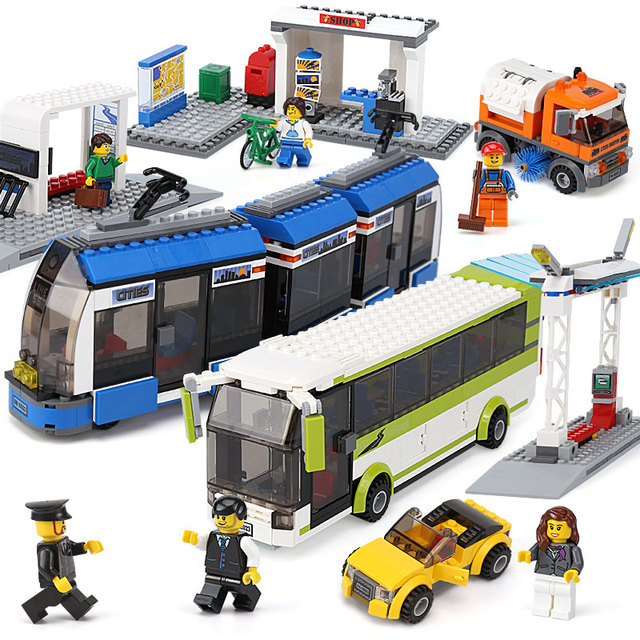 Lepin 02023 Kids Building Blocks Toys Compatible With Lego 8404