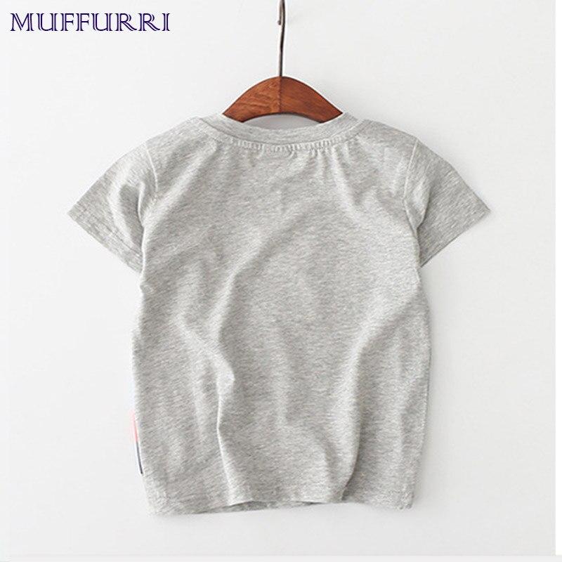 Muffurri Dzieci Letnia koszulka 2018 Nowa koszulka z krótkim - Ubrania dziecięce - Zdjęcie 4