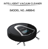 Eworld Multifunctional High Quality Robot Vacuum Cleaner M884 With Vacuum Cleaner Dust Bag Side Brush For