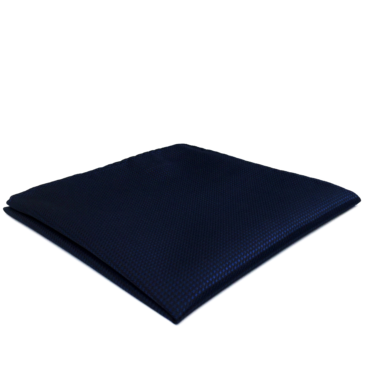 YH25 Navy Solid Handmade Classic Handkerchief Pocket Square Handkerchief Silk