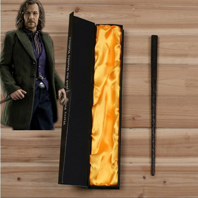 Magie Stricks Creavite Sirius Black Magic Wand Harry Potter Cosplay Kids Toys Halloween Gift With High Quality Box Packing ...