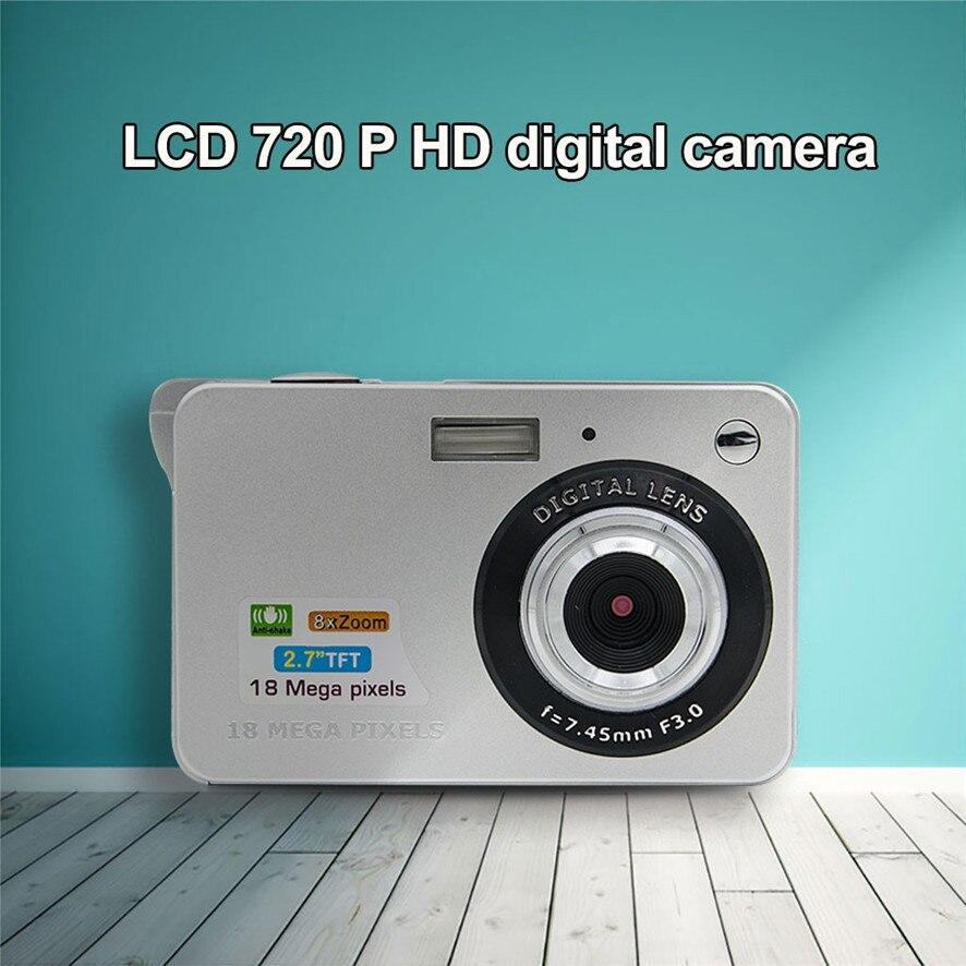 2017 Meilleur Prix 18 Mega Pixels 3.0MP CMOS capteur 2.7 pouce TFT LCD Écran HD 720 P Appareil Photo Numérique