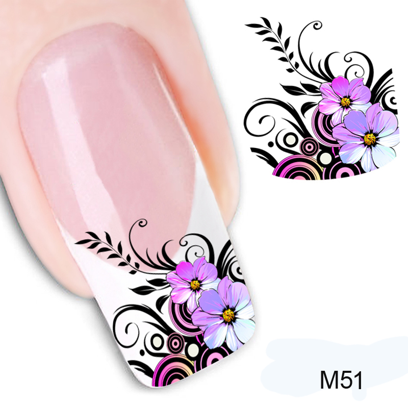 Decals Nail-Decoration-Tools Nail-Art-Stickers Manicure On-Your-Nails Water-Transfer