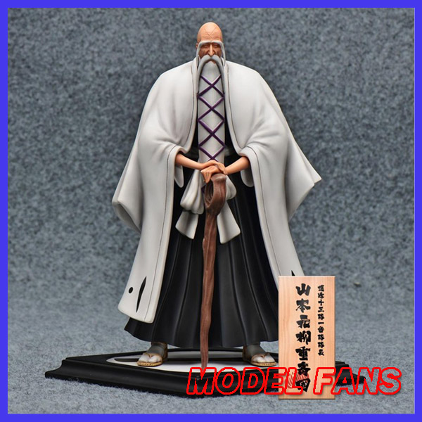 MODEL FANS IN-STOCK 23cm BLEACH Yamamoto Genryuusai Shigekuni GK resin made for Collection model fans in stock the same paragraph tsume 50cm fist of the north star lao gk resin made for collection