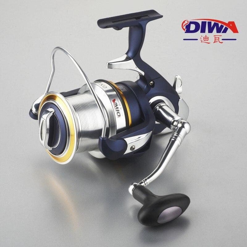 Original daiwa regal molinete de pesca 8000 9000 10000 tamanho com carretel duplo 10bb 5.3: 1 pesca moulinet