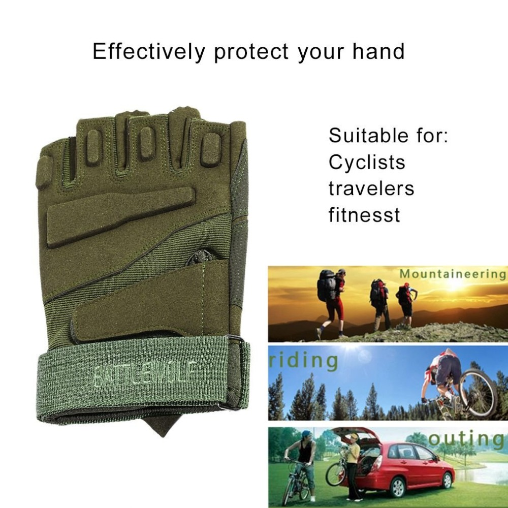 Practical Men Fitness Gym Half Finger Gloves Weight Lifting Exercise Sports Glove Outdoor Cycling Riding Bike Gloves albreda dynamic sense of bicycle ultra quiet home gym fitness equipment indoor sports exercise bike home exercise bike