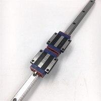15 мм L = 1200 мм линейный движения железнодорожных HGR15 + 2 шт. Длинные линейные перевозки Железнодорожный Блок hgw15cc для ЧПУ XYZ оси 3D принтеры замен