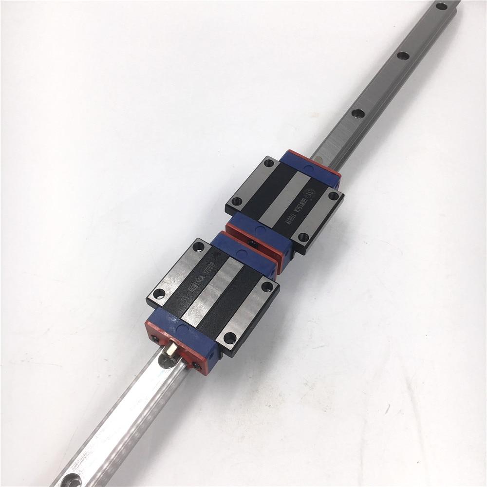 15mm L=1200mm Linear Motion Rail HGR15 + 2pcs Long Linear Carriage Rail Block HGW15CC for CNC XYZ Axis 3D Printer Replace HIWIN hgr15 interchangeable linear rail guide 15mm l 750mm 2pcs rail block linear carriage hgw15cc replace hiwin for cnc router