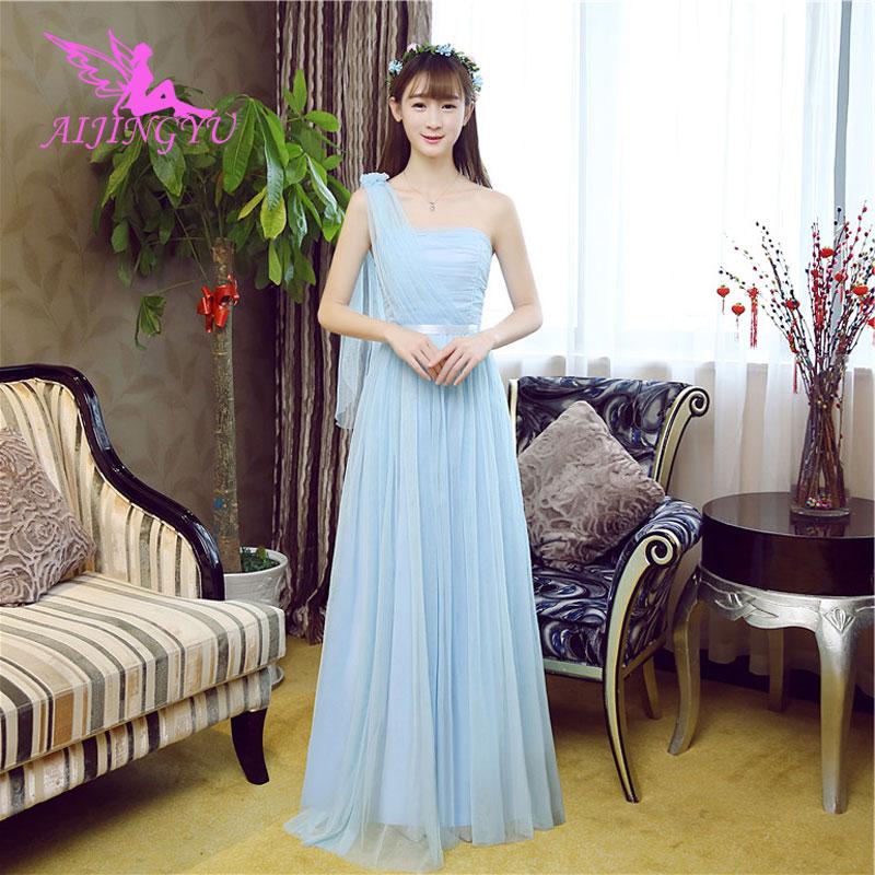 AIJINGYU 2018 sexy wedding party   bridesmaid     dresses   short formal   dress   BN966
