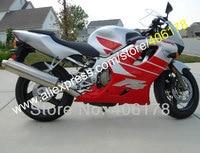 Hot SalesAftermarket Fairing For HONDA CBR600 F4 CBR 600 600F4 Red Gray 99