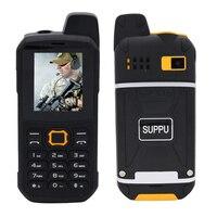 IP67 Waterproof Wireless Walkie Talkie Cell Phone Bluetooth Flashlight Powerbank Dustproof Shockproof Rugged Mobile Phone P284