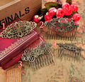 Antique Bronze Baby Hair Snap Clips accessories for Women Hairgrips Barrettes Head Hairpins Jewelry 1PC K05028