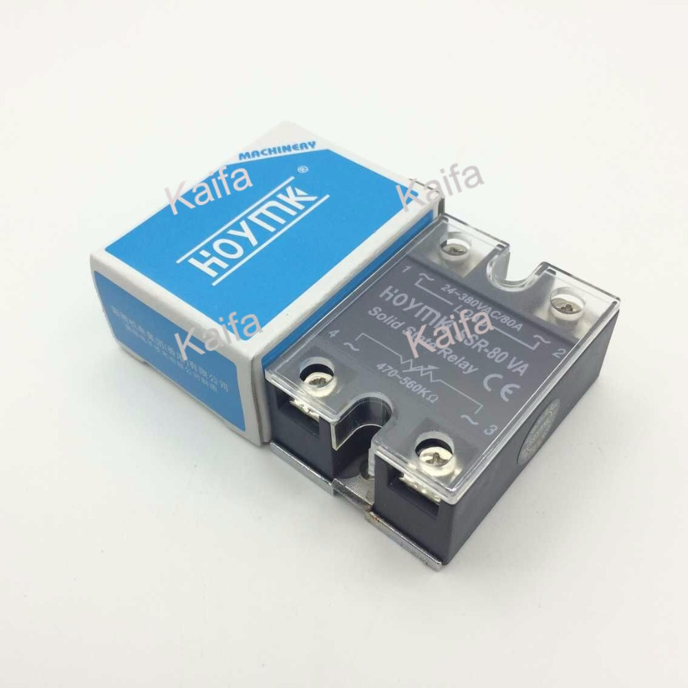 цена на wholesale genuine Solid State Relay SSR-80VA 80A 80-480VAC