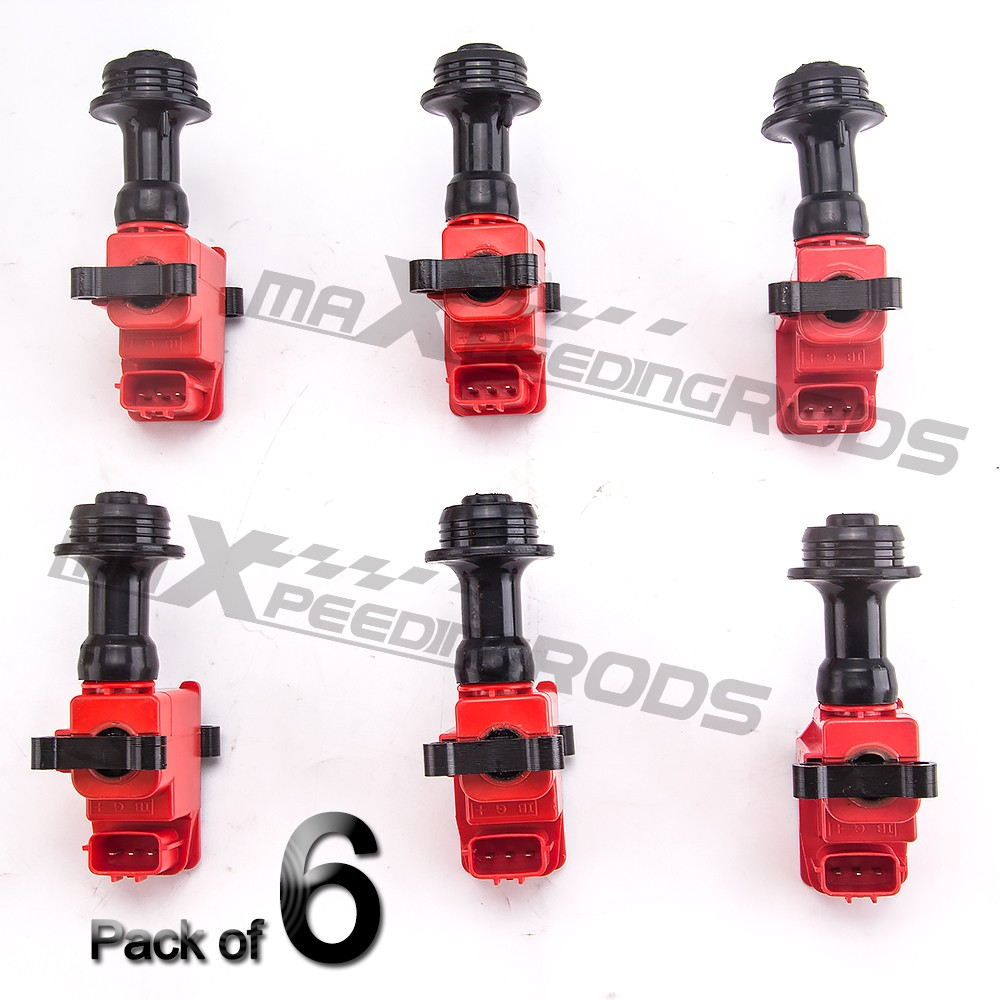 Ignition Coil Pack For Nissan Skyline LAUREL LEOPARD STAGEA R33 RB25 RB25DE RB25DET R34 ER33 S2
