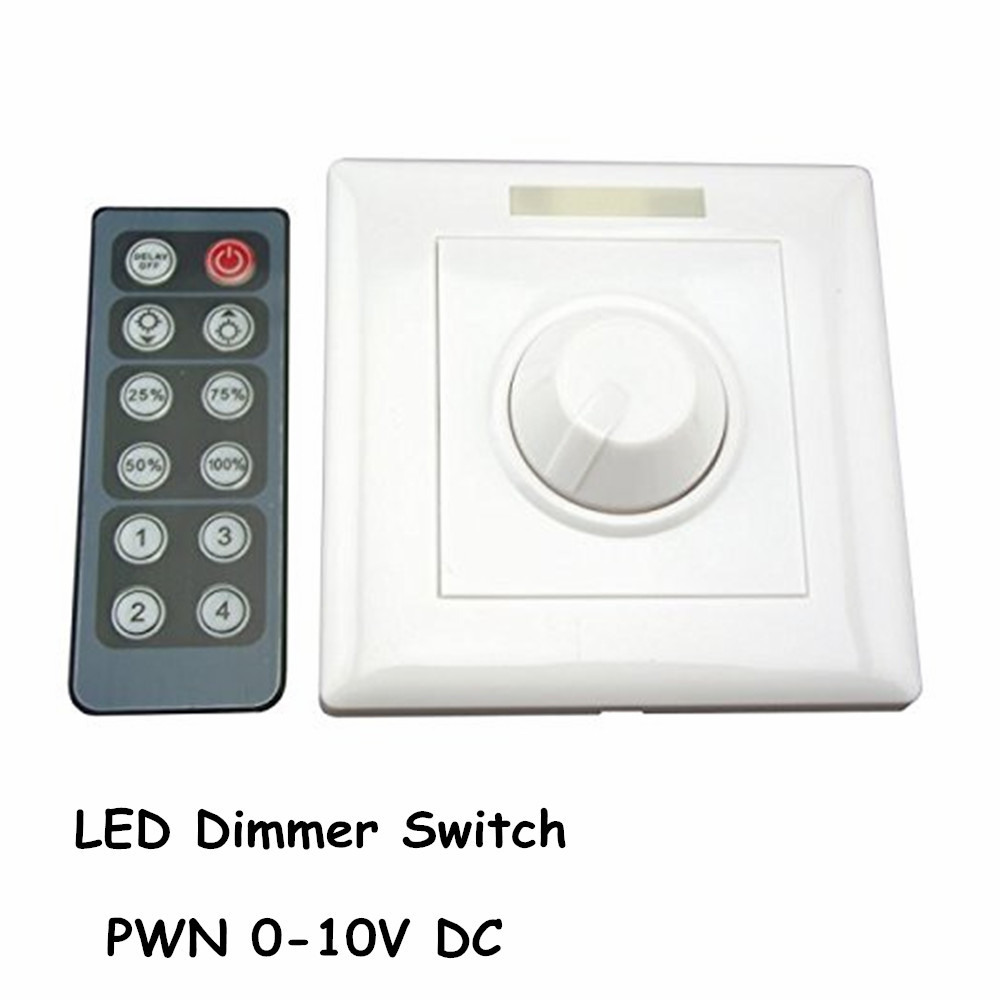buy led dimmer infrared 12 key triac dimmer 110v 220v knob triac led dimmer. Black Bedroom Furniture Sets. Home Design Ideas