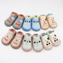 BibiCola/осень-зима, новые теплые носки для малышей, модные хлопковые нескользящие носки с героями мультфильмов для новорожденных, милые домашние носки для маленьких мальчиков и девочек