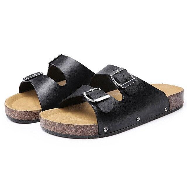 Pantoufles de plage unisexe des hommes d'été des pantoufles de plage sandales de loisirs@Or 6JSioAZDo