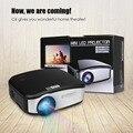 CHEERLUX C6 Mini LED & Projetor LCD 800x480 Pixels 1200 Lumens Home Theater HDMI/USB/VGA/AV/TV Projetor De Vídeo, Jogos, Ensino