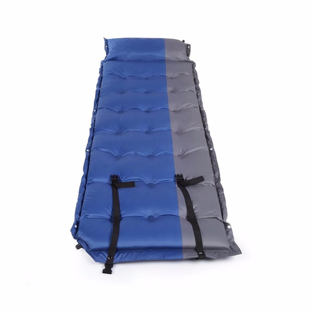 Automatic Inflatable Waterproof Self-Inflating Dampproof Sleeping Pad Tent Mat Picnic Outdoor Camping Air Mattress creeper bl q001 convenient outdoor self inflation dampproof dacron air cushion mat camouflage