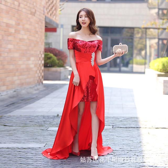09feff5cd84bf0 Nieuwe high-end vrouwen groothandel slanke jurk Strapless avondjurk toast  custom lange gown gratis verzending