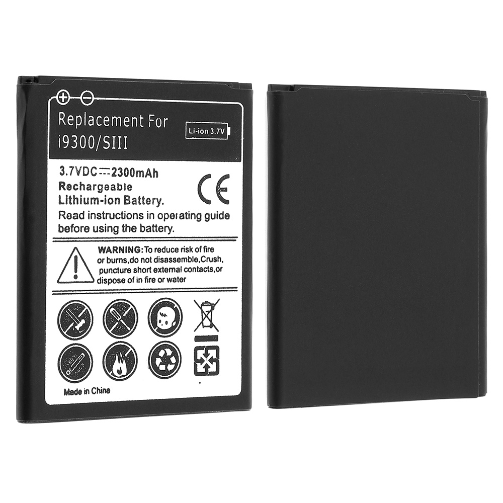все цены на 3.7V 2300mAh Rechargeable Li-ion Replacement Battery Mobile Cell Phone Accumulator for Samsung Galaxy S3 I9300 I9305 I9308 I535