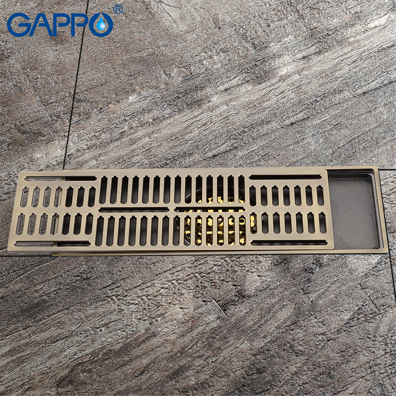 GAPPO doccia scarichi camera filtro Anti-odore Bagno Scarichi a Pavimento scarico del bagno strainer bagno doccia di scarico