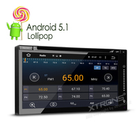 6 95 Two 2 Din Android 5 1 DVB T TV 1024 600 Car DVD Player