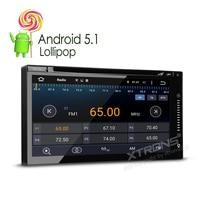 6.95 ''Universal Twee 2 Din Android 5.1 DVB-T TV Auto Dvd-speler GPS Navi Auto Radio Stereo OBD2 DAB + Video Bluetooth 3G RDS Audio