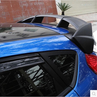 new ABS PRIMER REAR TRUNK LID AERO WING SPOILER FOR Ford Fiesta Hatchback 2009 2010 2011 2012 2013 2014 2015 2016 RS Style