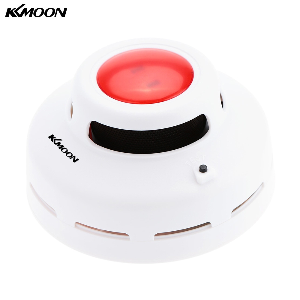 Standalone Photoelectric Smoke Detector Fire Alarm Sensor Sound Flash Alarm Warning Smoke Test For Indoor Home Safety Security 10 pcs lot standalone wireless smoke detector independant smoke alarm sensor