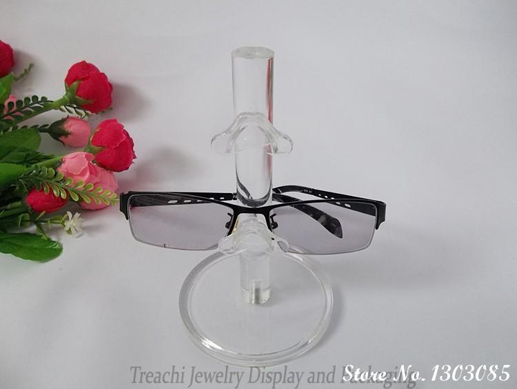 Free Shipping High Quality Acrylic 2 layer Glasses Display Props Sunglasses Stand Rack