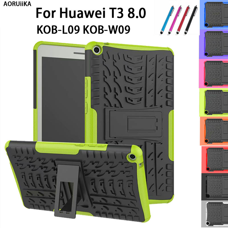 Cover Huawei Mediapad T3 8.0-Case Kob-W09-Tablet Soft-Silicone For PC PC