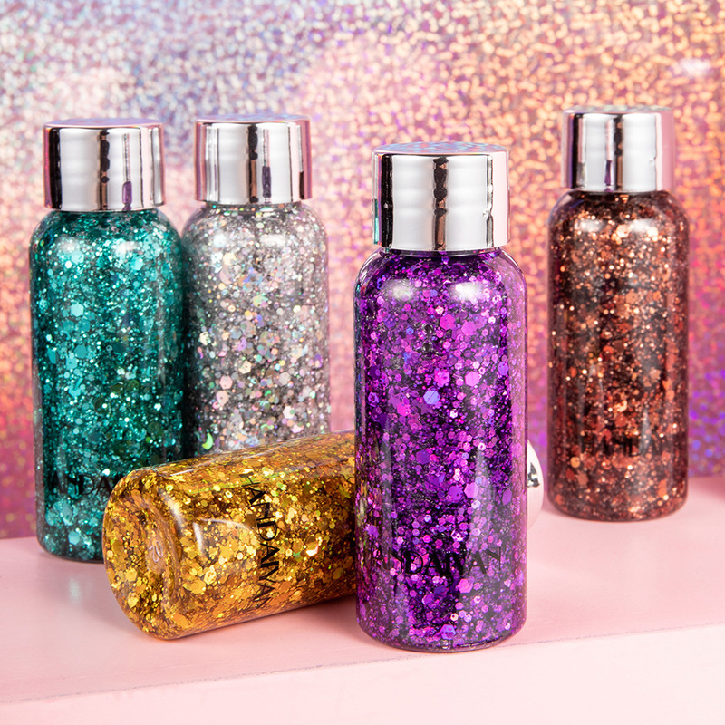 HANDAIYAN Eye-Makeup Shadow Shimmer Face Glitter Body-Gel Festival Sequins Loose Party