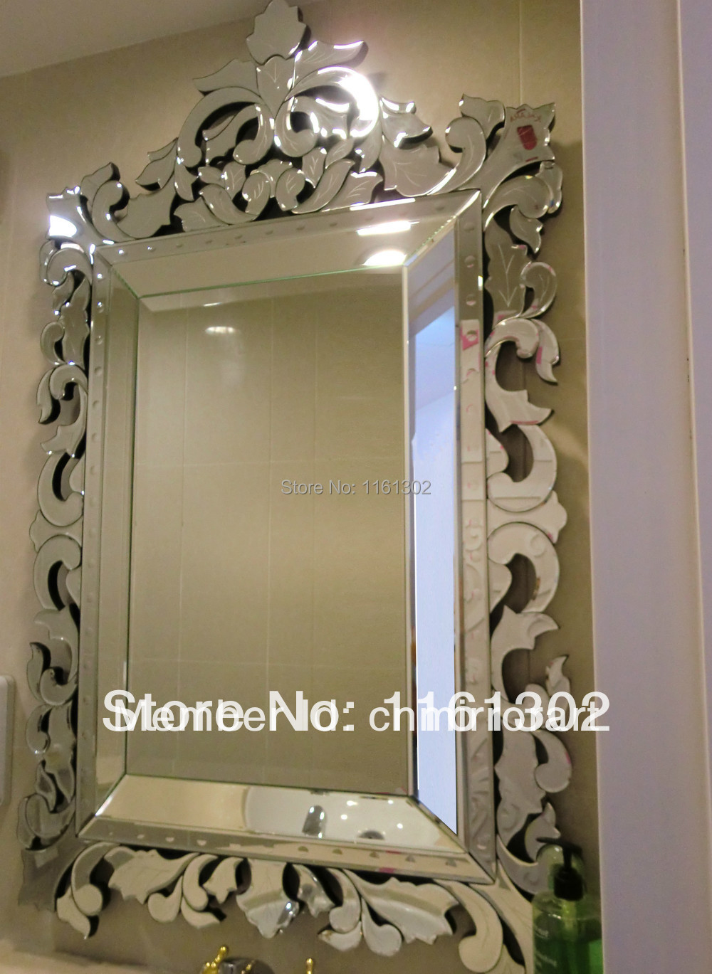 Online buy wholesale venetian glass mirrors from china for Wholesale mirrors