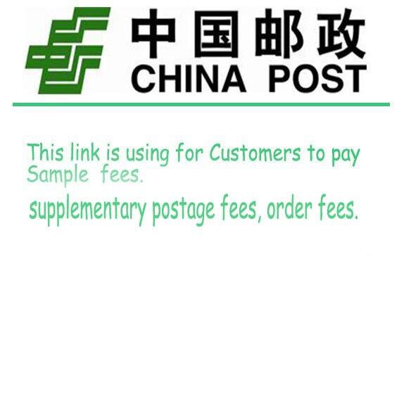 1 pces representam o 1 usd este link está usando para que os clientes paguem taxas da amostra. Entre em contato conosco antes