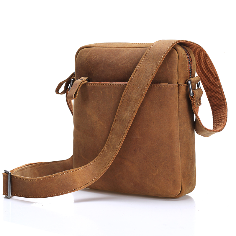 MISFITS New fashion Genuine Leather Men small shoulder bag Casual Men's Messenger Bags Hot Sale Male Leather Crossbody bags high quality 2015 new hot sale genuine cowhide leather men bag fashion men messenger bag small business crossbody shoulder bags