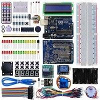 Elecrow Intermediate Development Kit For Arduino Starter Learning Kit Upgrade Version More Than 24 Lessons DIY