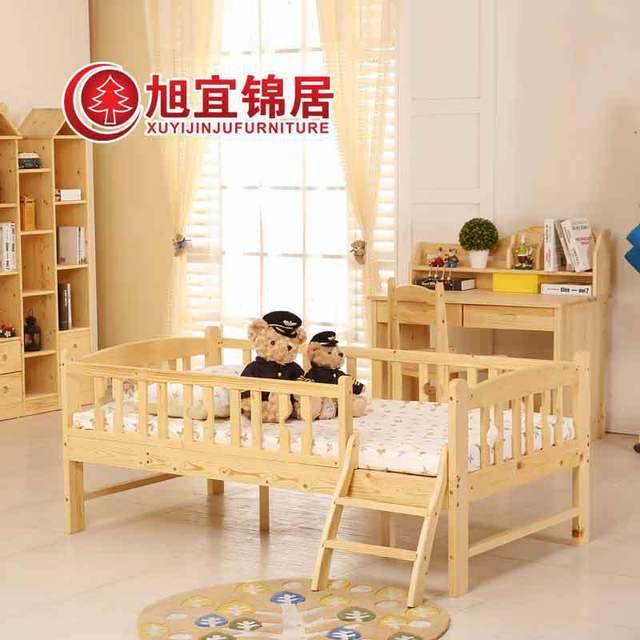 Jin Xuyuan Holz Bett Kinderbett Jungen Und Madchen Bett Von