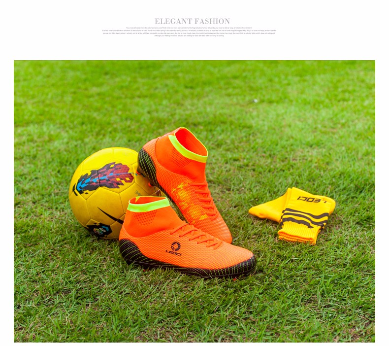 2017 High Ankle Kids Football Boots Superfly Original Cheap Indoor Soccer Football Shoes Cleats Boys Girls Sneakers High Quality 8