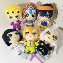 Япония JoJos Необычные Приключения Золотой ветер плюшевый jorno Narancia Mista Buccellati Abbacchio Fugo Мягкие плюшевые игрушки куклы новые