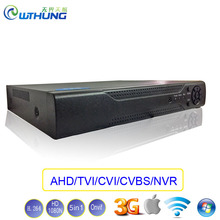 Hybrydowy XMeye Hi3521A IP NVR AHD DVR 16 Kanałowy CVI TVI 16CH 1080N 5 w 1 Koncentryczny wsparcie P2P onvif 1080 P Kamera Nadzorująca