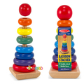 Child early learning toy buttressed circle sets tower
