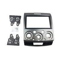 New Double Din Car Radio Frame Fascia For Mazda BT 50 Facia Radio Dash Installation Trim