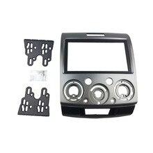 Nuevo Doble Din Car Radio Facia Fascia Para Mazda BT-50 Radio Instalación Dash Juego de Acabados Fascia Placa Frontal Del Bisel