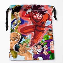 Fl-Q41 New anime Dragon Ball Z #30 Custom Logo Printed  receive bag  Bag Compression Type drawstring bags size 18X22cm 711-#F41